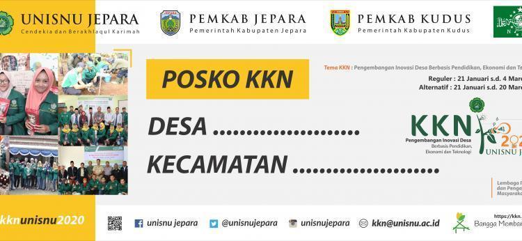 Penerjunan Peserta KKN TA 2019/2020 Periode I (Kabupaten Jepara)